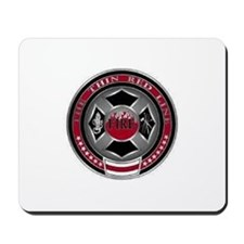FireFighters Coin... Mousepad