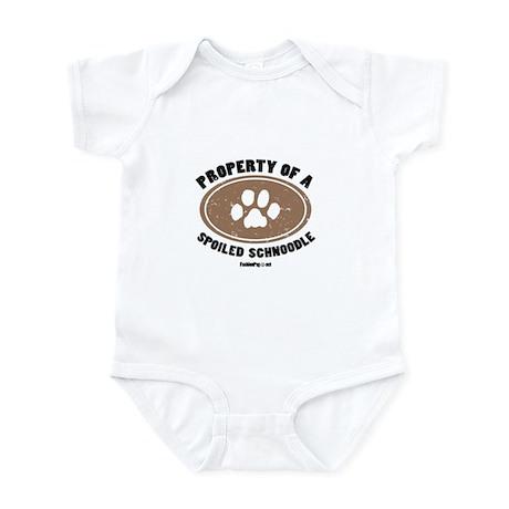 Schnoodle dog Infant Bodysuit