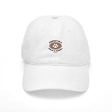 St. Berdoodle dog Baseball Cap