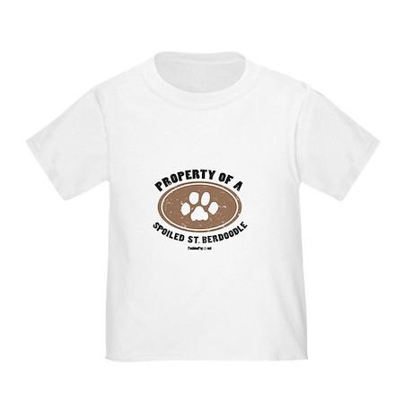 St. Berdoodle dog Toddler T-Shirt