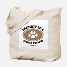 Pugapoo dog Tote Bag