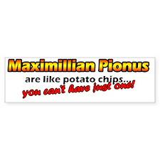 maxipi_potatochips Bumper Sticker