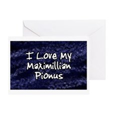 maxipi_funklove_oval Greeting Card