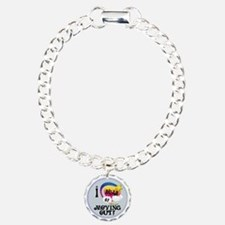 I Dream of Moving Out Charm Bracelet, One Charm