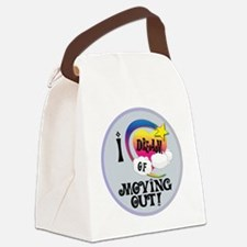 I Dream of Moving Out Canvas Lunch Bag
