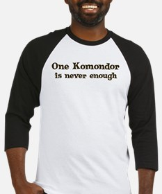 One Komondor Baseball Jersey
