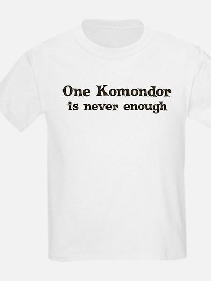 One Komondor Kids T-Shirt