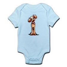 Apricot Poodle Girly Body Suit