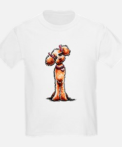 Apricot Poodle Girly T-Shirt