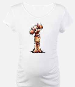 Apricot Poodle Girly Shirt