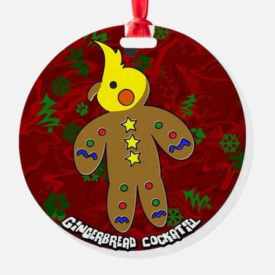 gingerbread_cockatiel_ornament Ornament