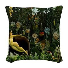 il Sogno (The Dream) Woven Throw Pillow