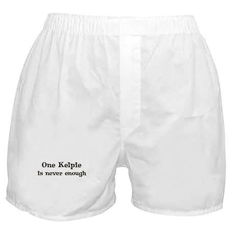 One Kelpie Boxer Shorts