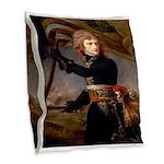 Napoleon Burlap Throw Pillow