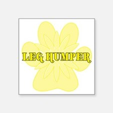 "leghumper Square Sticker 3"" x 3"""