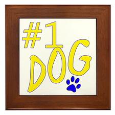 no1dog Framed Tile