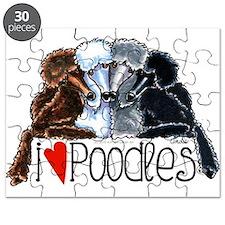Love Poodles Puzzle
