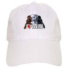 Love Poodles Baseball Cap