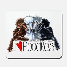 Love Poodles Mousepad