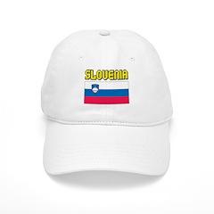 Slovenia Flag Baseball Cap
