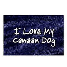canaan_funkylove_oval Postcards (Package of 8)