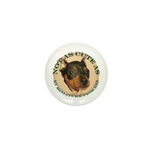 Miniature Pinscher Mini Button (10 pack)