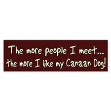 canaan_morepeople Bumper Sticker