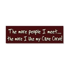cane_morepeople Car Magnet 10 x 3
