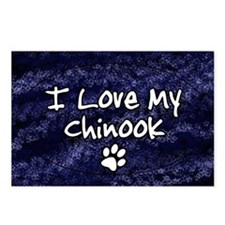 chinook_funkylove_oval Postcards (Package of 8)