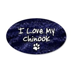 chinook_funkylove_oval 35x21 Oval Wall Decal