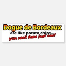 dogue_potatochips Bumper Bumper Sticker