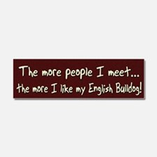 englishbull_morepeople Car Magnet 10 x 3