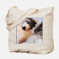 roofus_sleepy_poster Tote Bag