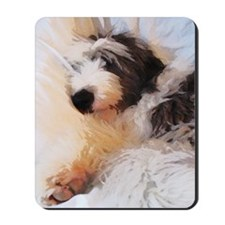 roofus_sleepy_card Mousepad