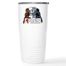 Love Poodles Travel Mug