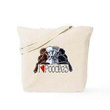 Love Poodles Tote Bag
