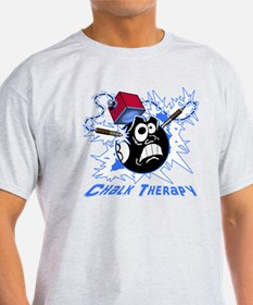 Chalk Therapy (dark shirt) T-Shirt