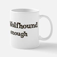 One Irish Wolfhound Small Small Mug