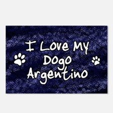 funklove_oval_dogo Postcards (Package of 8)