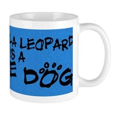 rescuedog_catahoula Small Mug
