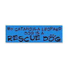 rescuedog_catahoula Car Magnet 10 x 3
