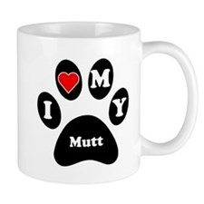 I Heart My Mutt Mug