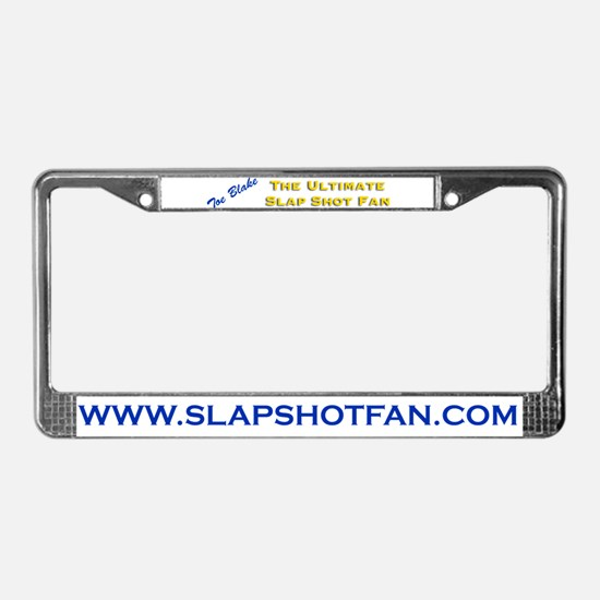 Unique Bound and gags License Plate Frame