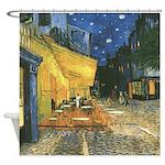 Arles at Night Shower Curtain