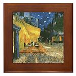 Arles at Night Framed Tile