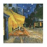 Arles at Night Tile Coaster