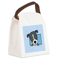 catahoula_cartoon_ornament Canvas Lunch Bag