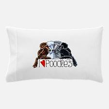 Love Poodles Pillow Case