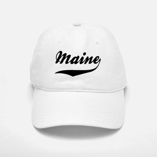 Maine Baseball Baseball Cap