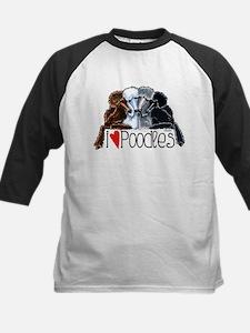 Love Poodles Baseball Jersey